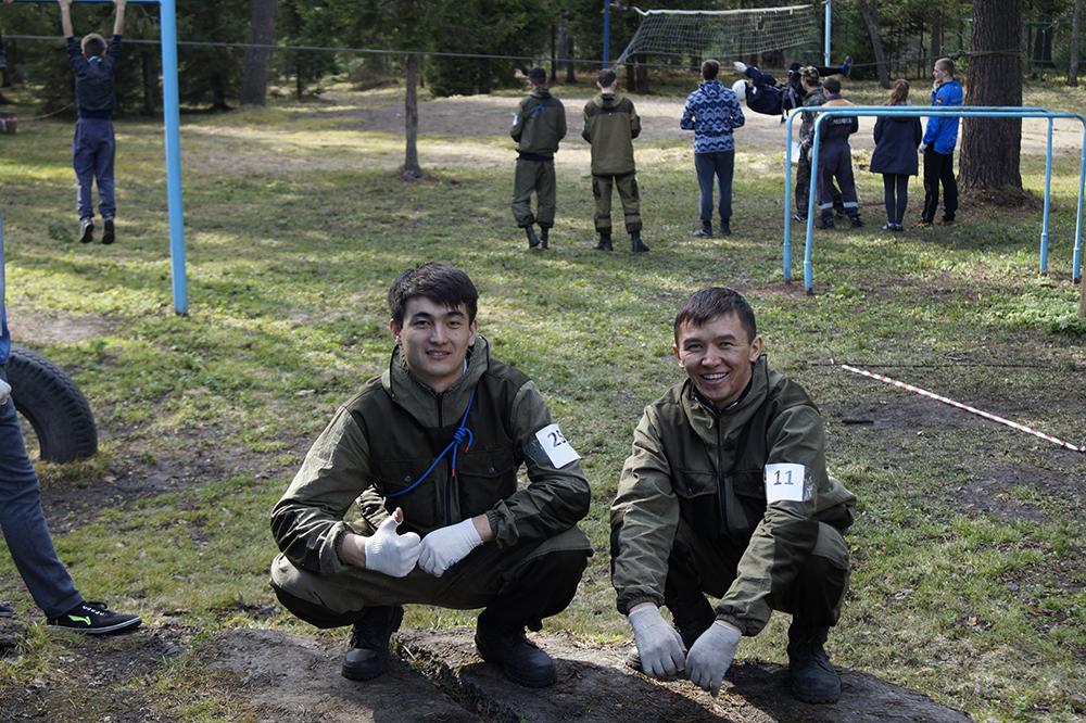 Участие студентов ЮТИ ТПУ в соревнованиях студентов-спасателей