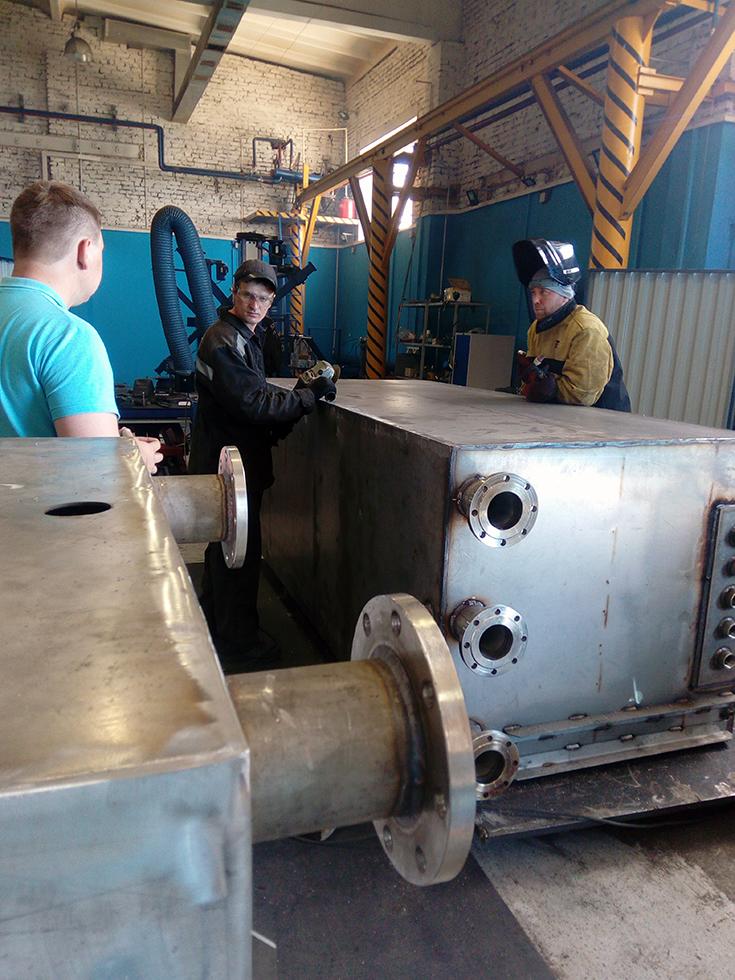 Экскурсия студентов кафедры сварочного производства на промышлен