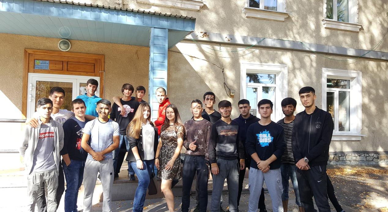 Посвящение в студенты первокурсников кафедры «Металлургия чёрных