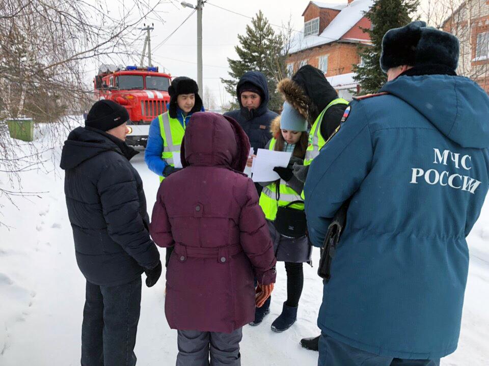 Участие студентов ЮТИ ТПУ в профилактических мероприятиях Юргинс