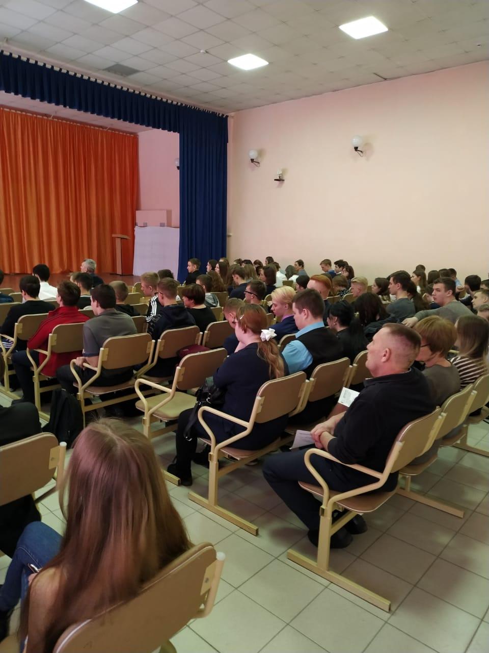 Профориентационная работа в г. Заринске Алтайского края