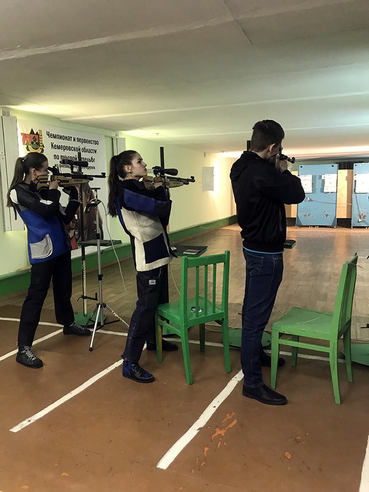 Итоги соревнований по пулевой стрельбе