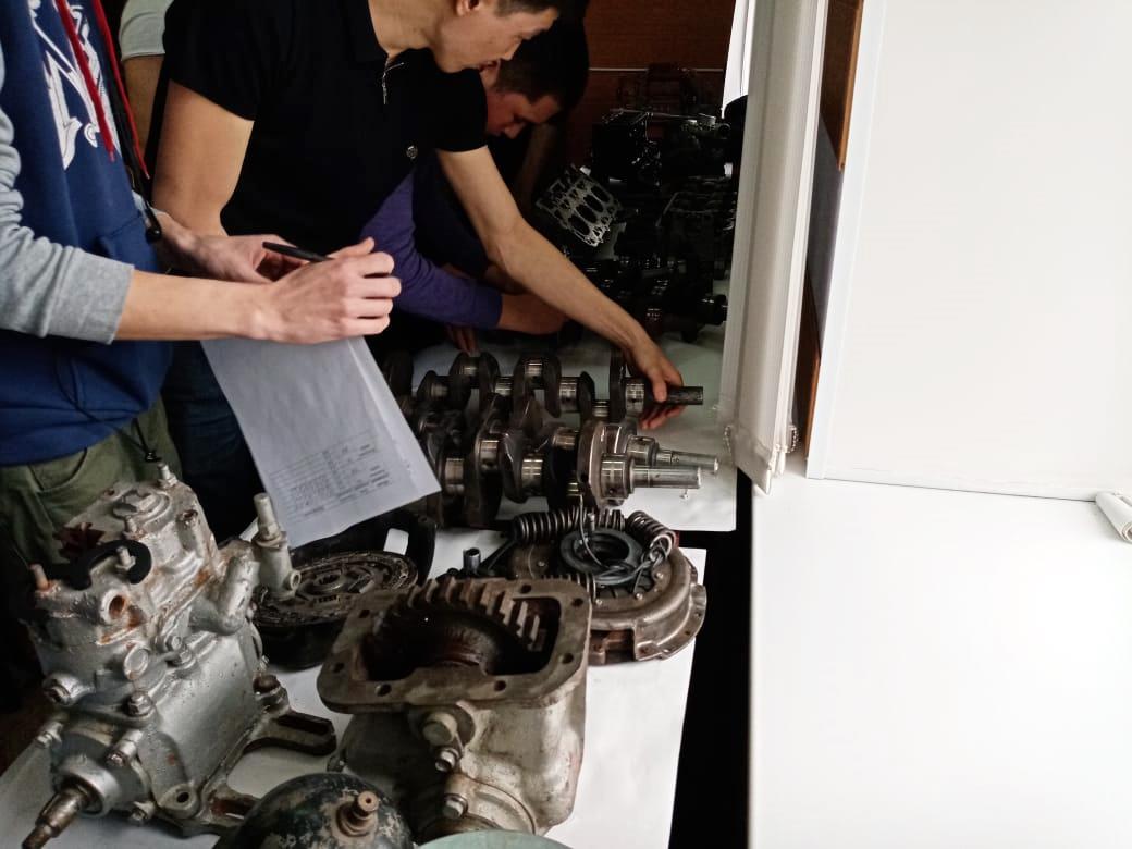 Итоги олимпиады по дисциплине «Технология ремонта машин»