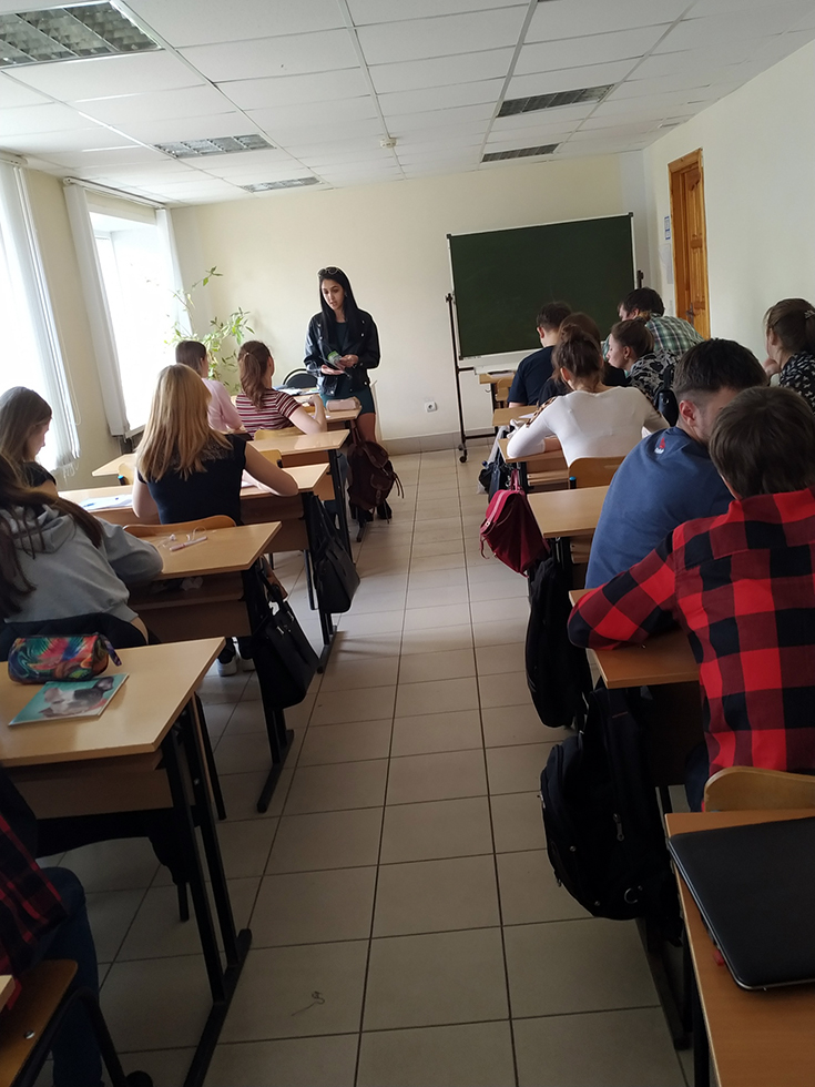 Представители ЮТИ ТПУ провели профориентационные мероприятия в Р