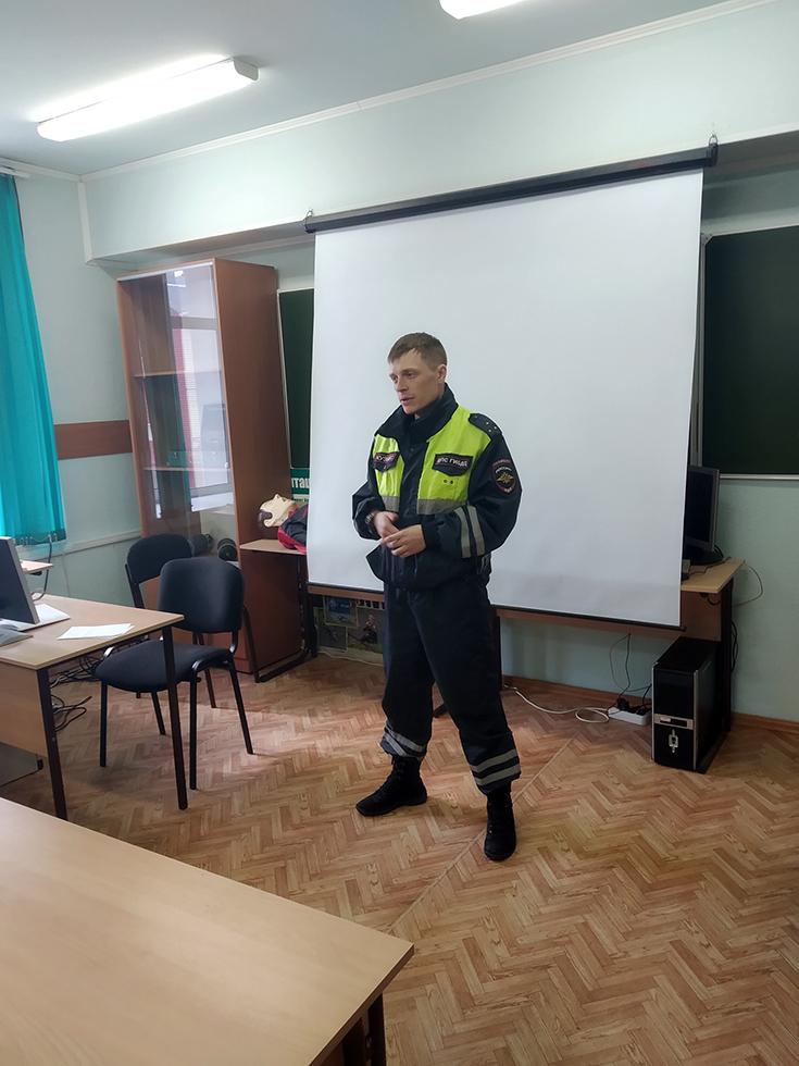 В ЮТИ ТПУ прошла лекция «Студенты за безопасность дорожного движ