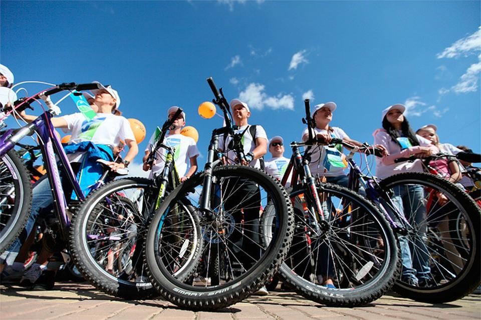 Велопробег, посвященный 300-летию образования Кузбасса, в рамках