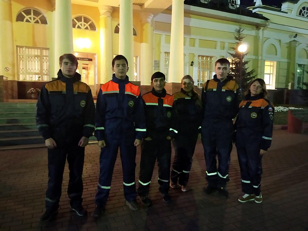 Участие студентов ЮТИ ТПУ во Всероссийской ежегодной акции «Сохр