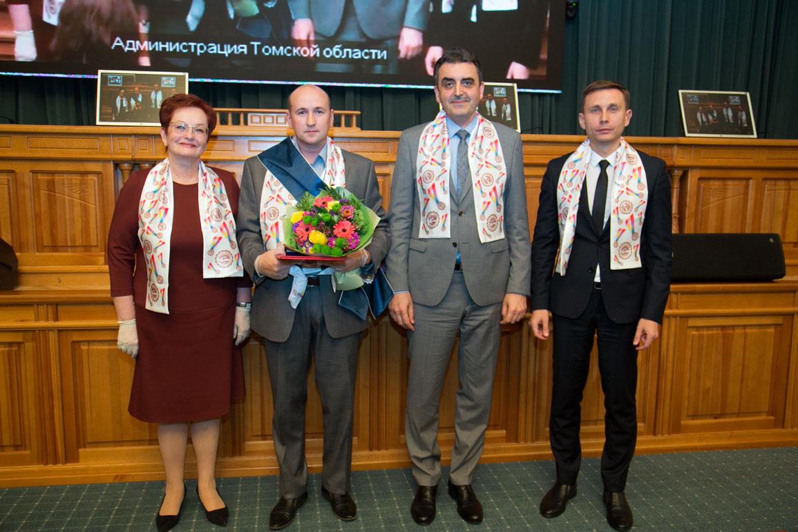 Торжественный прием в честь лауреатов Премии Законодательной Дум