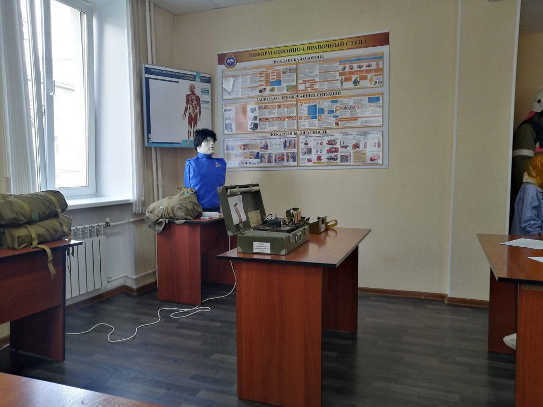 Участие студентов ЮТИ ТПУ в проверке городских сил и средств гра